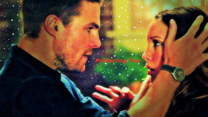 Oliver and Laurel Wallpaper