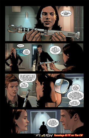 The Flash - Episode 1.15 - Out of Time - Comic xem trước