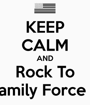 keep calm and l'amour Family force 5