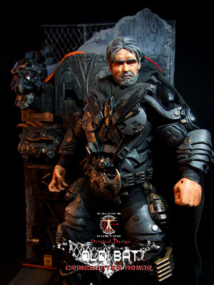 Calvin's Custom 1:6 One Sixth scale Old Batman in Crimebuster Armor