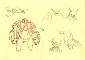 Character Designs from Big Hero 6 によって Shigeto Koyama