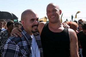 Furious 7 - Hector and Dom