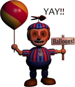 Happy Balloon Boy