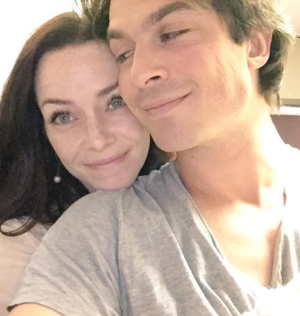 Ian Somerhalder and Annie Wersching
