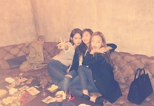 KARA's Goo Hara, Davichi's Minkyung, and Jessica Party Together