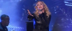 "madonna performing on Ellen ""Ghosttown"""