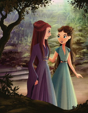 Margaery Tyrell and Sansa Stark