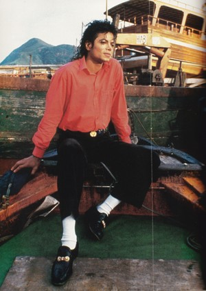 Michael Jackson - HQ Scan - Bad Era Pic