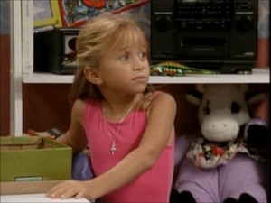 Michelle Tanner at the Age of Eight
