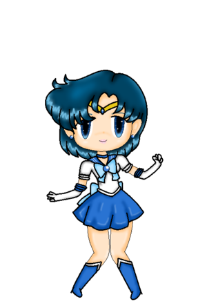 Sailor Mercury চিবি