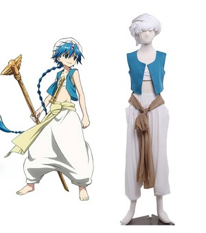 The Labyrinth of Magic アラジン Cosplay Costume