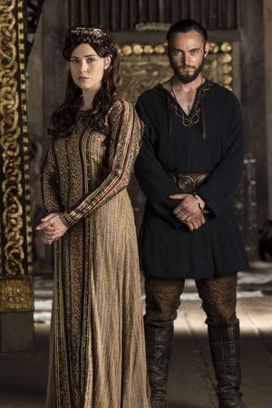 Vikings Judith and Athelstan Season 3 Official Picture