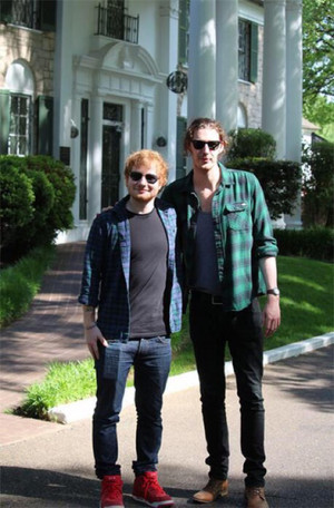 Ed and Hozier