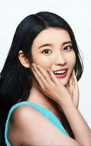 [FANART] 150505 ‪‎IU‬ portrait from 무기님 on DC.