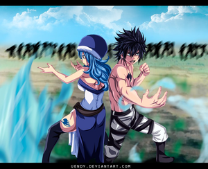 *Gruvia Fight*