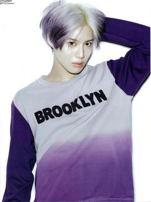 [HQ] Purple Hair Taemin 태민「Oh Boy!」5月号