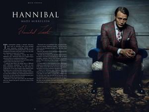 """The Art and Making of Hannibal: The ویژن ٹیلی Series."""