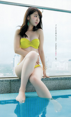 柏木由紀「Weekly Young Jump」 No.21 22 2015