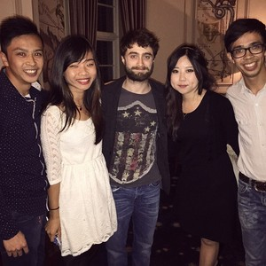 Daniel Radcliffe Spotted in Cape Town, South Africa (Fb.com/DanielJacobRadcliffeFanClub)