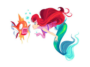 Disney meets pokemon - Ariel
