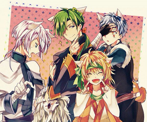 Akatsuki no Yona - Dragon Warriors - Neko :3