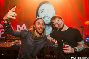 Ed and David Guetta
