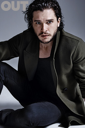 Kit Harington on Out Magazine