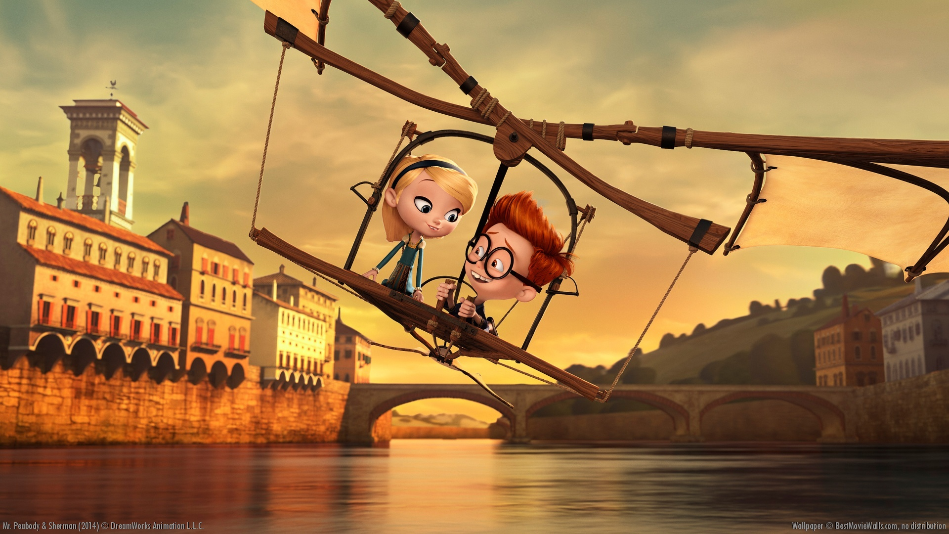 Mr Peabody And Sherman Wallpaper Animated Movies Wallpaper