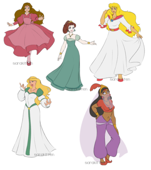Non-Disney Princesses