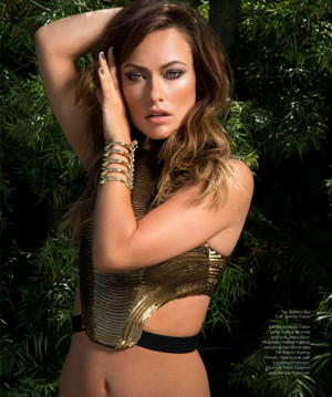 Olivia Wilde - Harper's Bazaar Photoshoot - September 2013