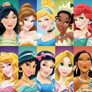 Princess Collage Makeover