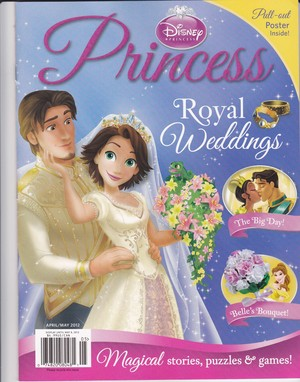 Rapunzel and Flynn: Best jour Ever Cover (Wedding)