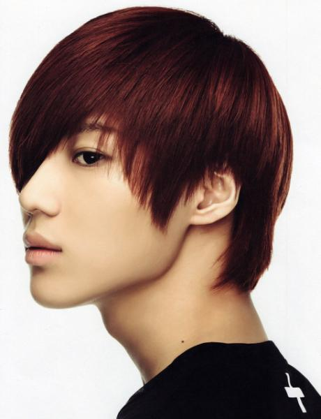 Red hair  Taemin Oh Boy