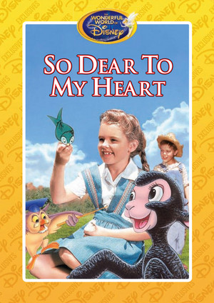 So Dear to My Heart (1948) - Wonderful World of Disney DVD Cover