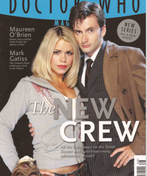 Ten and Rose - Magazine Cover