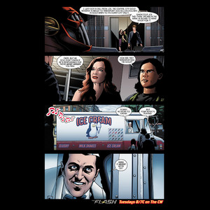 The Flash - Episode 1.21 - Grodd Lives - Comic プレビュー