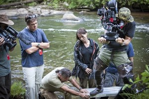 The Hunger Games - Behind scenes