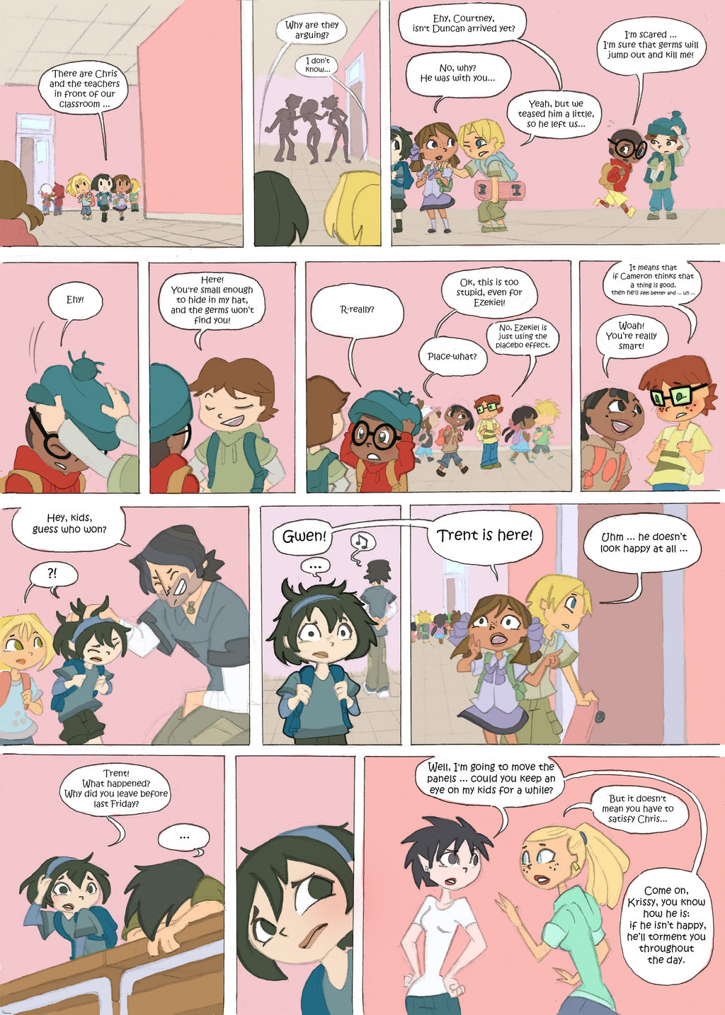 Total Drama Kids Comic Page 34