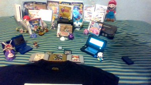 Wind's Nintendo Collection (Top View)