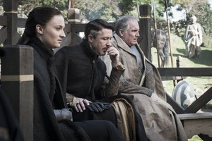 sansa and petyr with royce