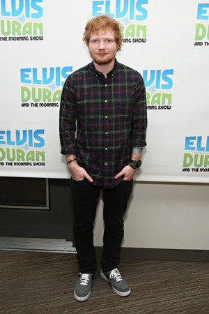 Ed Visits 'The Elvis Duran Z100 Morning Show'