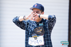 [HQ FANTAKEN] PHOTOS : 150510 MINO at SMTM4 audition venue