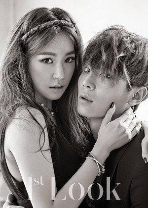 1st look Magazine Tiffany and Lee Cheol-woo