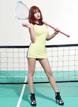 AOA Yuna – Concept 사진 For 'Heart Attack'