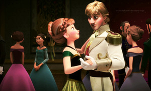 Anna and Kristoff