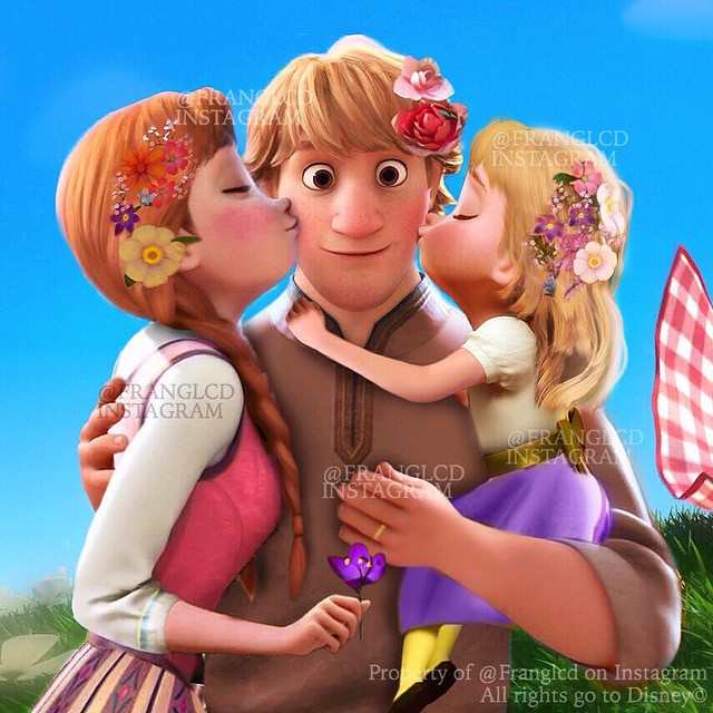 Anna and Kristoff's Family