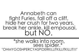 Annabeth Spiders