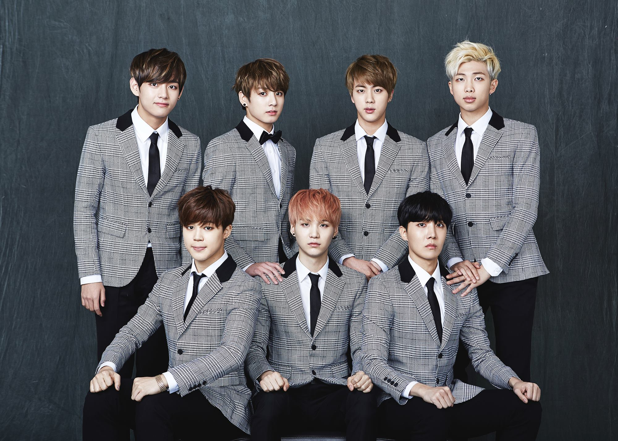 BTS 2nd Anniversary Real Family Picture part 1 bts 38547445 2000 1429