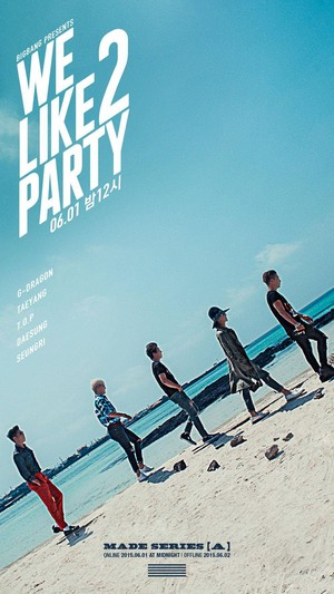 Big Bang say 'We Like 2 Party' in their next poster for second monthly comeback project!