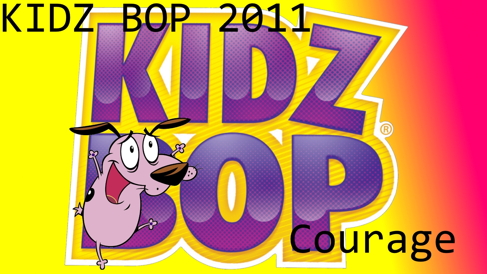 Courage The Kidz Bop Kid Wallpaper Courage The Cowardly Dog